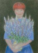 <p>pastel, papier, 50x40 cm, 2008</p>